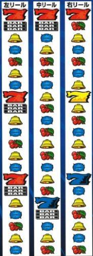 ギャンブルコンボ2 リール配列